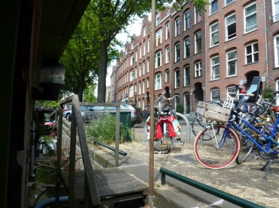 Amsterdam Houseboat Entry