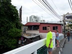 Roaming around Bangkok the back streets