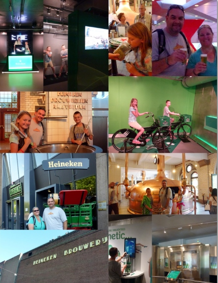 The Heineken Experience Amsterdam Collage