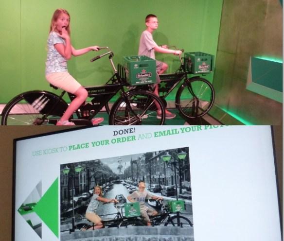 The Heineken Experience Amsterdam - Photo Fun