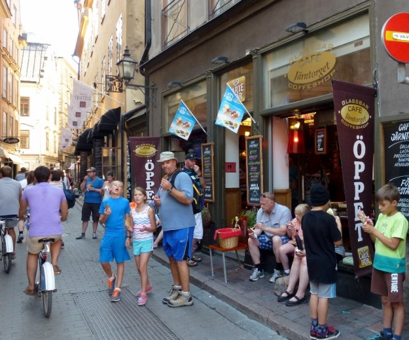 Waffle cones Stockholm Sweden