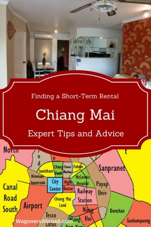 Is it easy to find a short term rental In Chiang Mai Thailand for a family? We did! We share all of our research and thoughts with you. Read more on WagonersAbroad.com