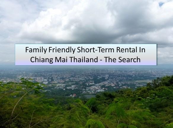 Rental in Chiang Mai Thailand
