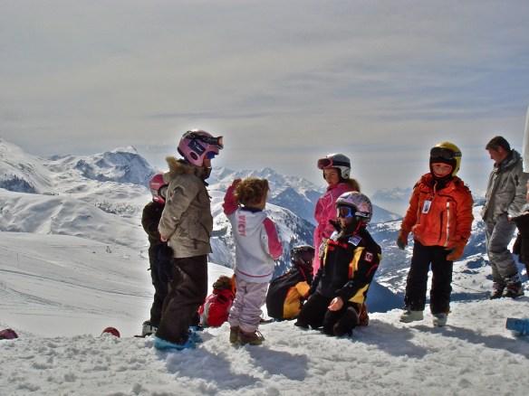ski with kids 2