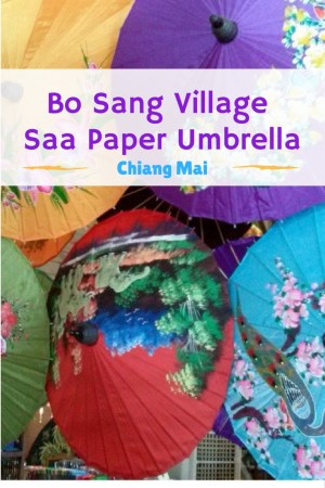 Just outside of Chiang Mai Thailand is the hadicraft highway. Let us take you on a visit to Bo Sang Village - Saa Paper Umbrella Making. Read more on WagonersAbroad.com