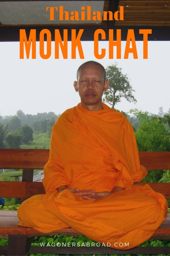 We tell you how and where to have a Monk Chat in Chiang Mai Thailand. It is free and they are open to all questions, of course they will ask you some too. Read more on WagonersAbroad.com