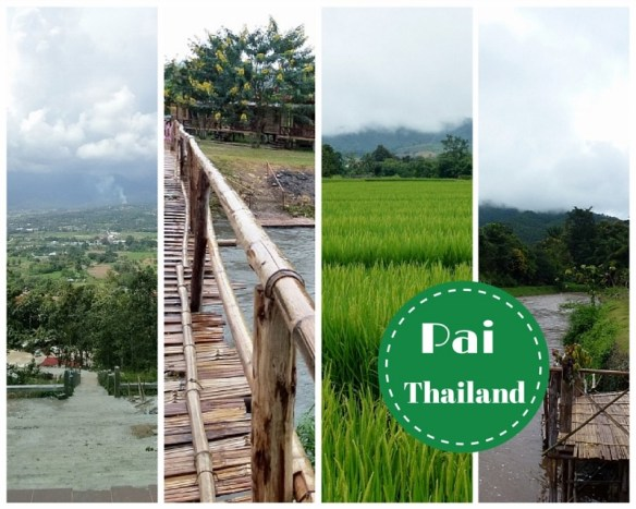 Pai Thailand Collage
