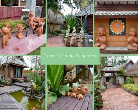 Pai Vintage Resort Garden Collage