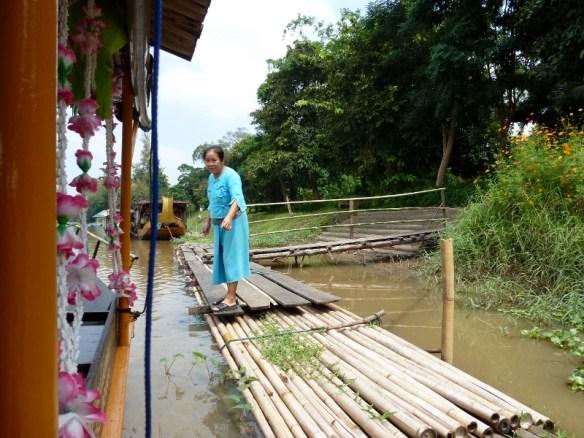 Scorpion Tailed River Cruise Bamboo Docks