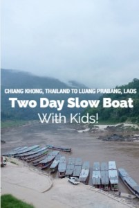 2 day slow boat thailand to laos with kids