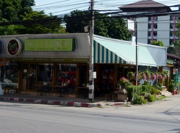 Chiang Mai Salad Concept