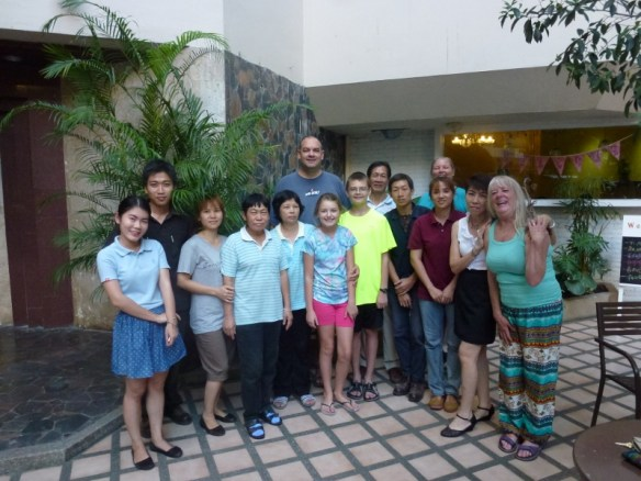 Wagoners Abroad with Hillside 3 Condo Staff Chiang Mai