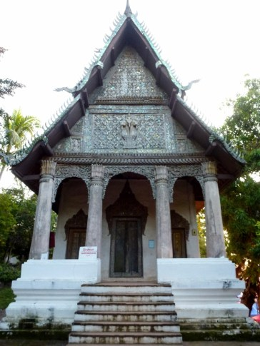 An old temple across from Wat Mai