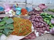 Fresh produce at the morning market.