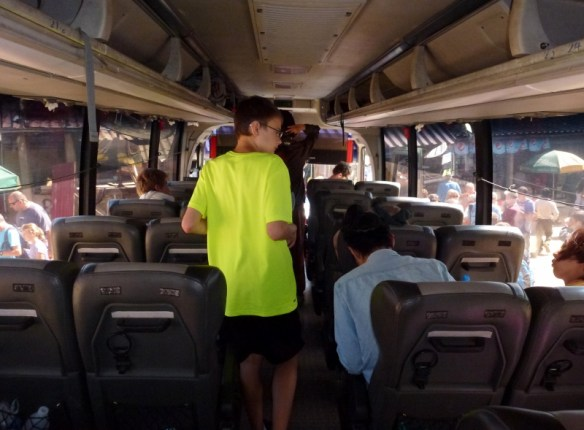 VIP Bus Laos Interior