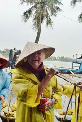 Gma Bev Hoi An Vietnam working it