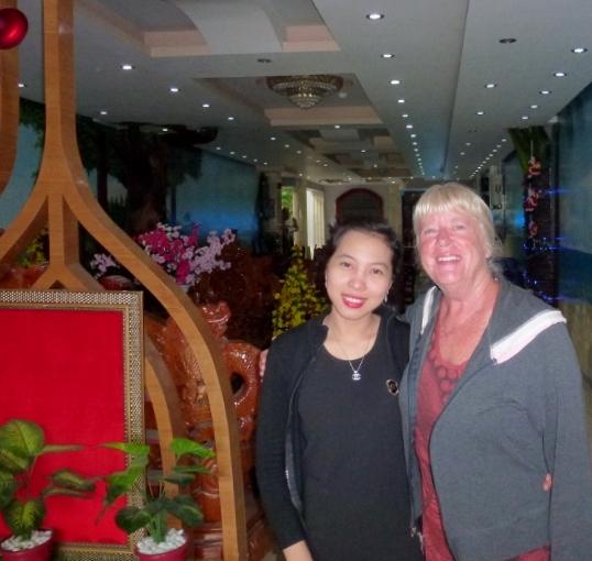 Dung at the Bali B Hotel Ho Chi Minh City Vietnam