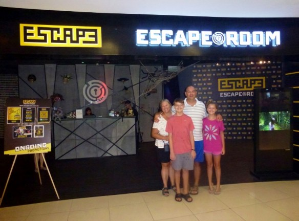 Escape Room Georgetown Malaysia on the island of Penang