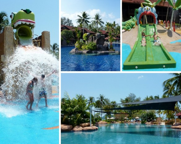 Meritus Pelangi Pool Collage
