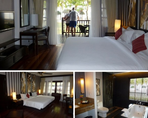 Best resort in Malaysia on the island of Langkawi! Meritus Pelangi Room Collage, Langkawi Malaysia. Read more on WagonersAbroad.com
