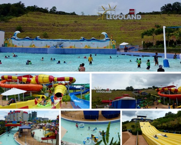 Legoland Water Park Johor Bahru Malaysia Wave Pool and Slides