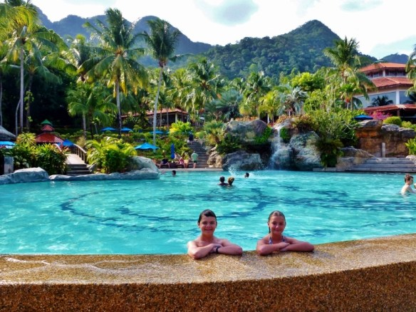 Berjaya Langkawi Resort Pool and Rainforest