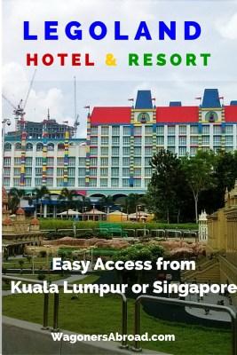 Kuala Lumpur to Legoland Malaysia or from Singapore, Johor Bahru Legoland Malaysia. Easy Access to Legoland Malaysia from Kuala Lumpur or Singapore. Read more on WagonersAbroad.com