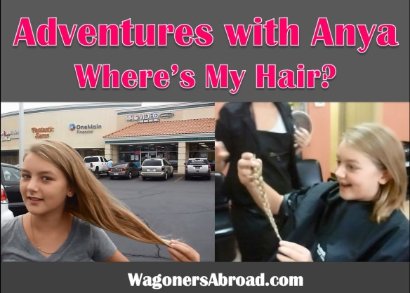 If you have long hair and want to do something good, get a hair cut and make a hair donation.  Read more on WagonersAbroad.com