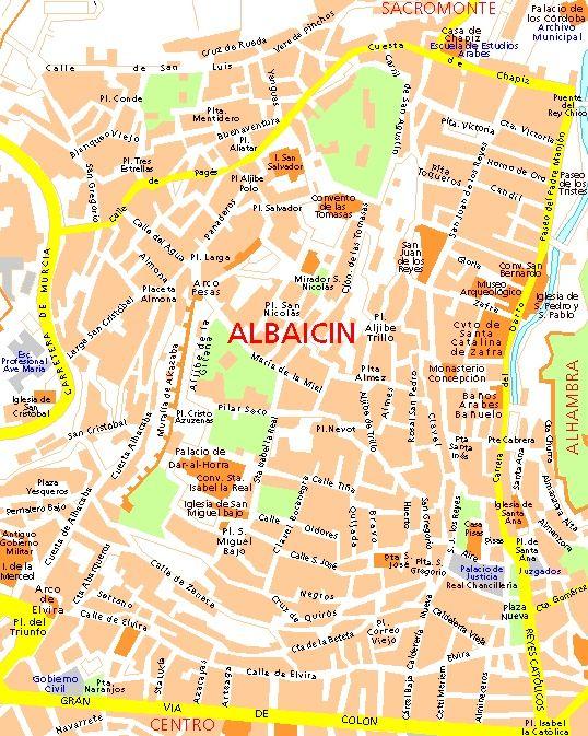 Albaicin-map