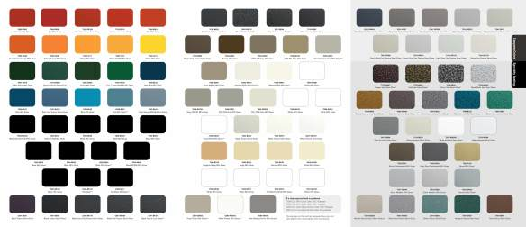 Powder-coating-colors