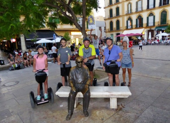 Wagoners Abroad with Pablo Picasso Segway Malaga Experience Spain - Costa del Sol