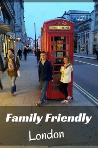 London - family friendly hotels. London with kids! Classic Red Phone Booth. Read more on WagonersAbroad.com