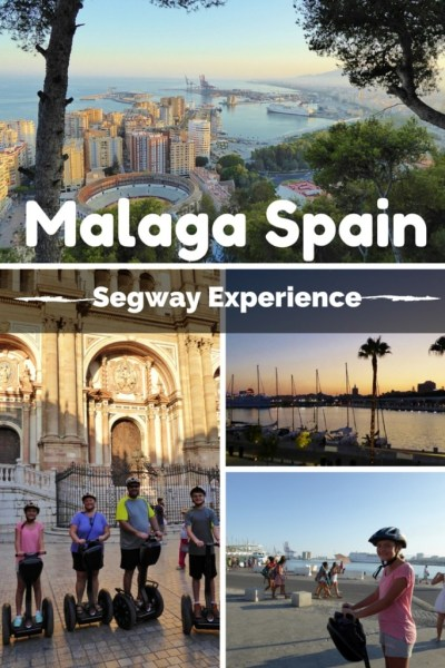 An amazing Segway tour along the Malaga Port, through the historic center, up to the castle and beyond. 2 + hours of fun at sunset with Segway Malaga Experience. Read more on WagonersAbroad.com
