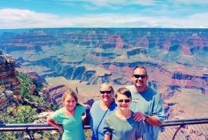 Wagoners Abroad at the Grand Canyon