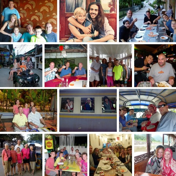 Wagoners Abroad Fellow Travelers and Friends.  Ships Passing - Travel Lifestyle