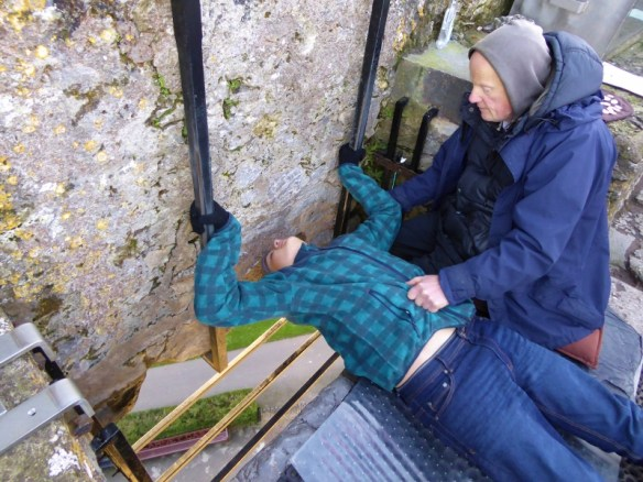 Blarney Castle County Cork Ireland - Kissing the Blarney Stone (6)