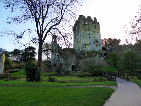 Blarney Castle County Cork Ireland - Kissing the Blarney Stone. Read more on WagonersAbroad.com