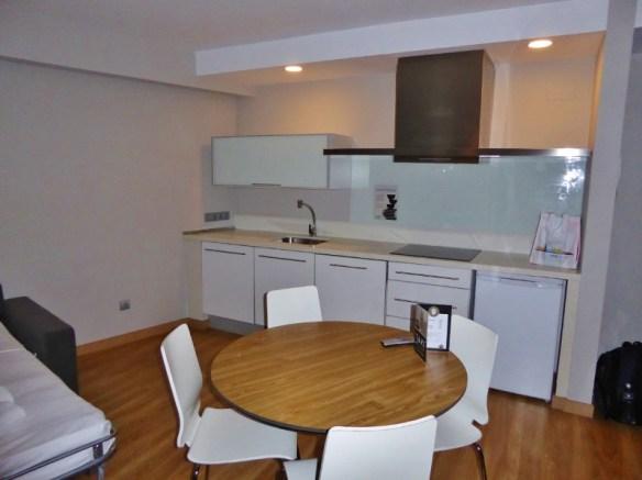 Valencia Flats Centro Ciudad Kitchen