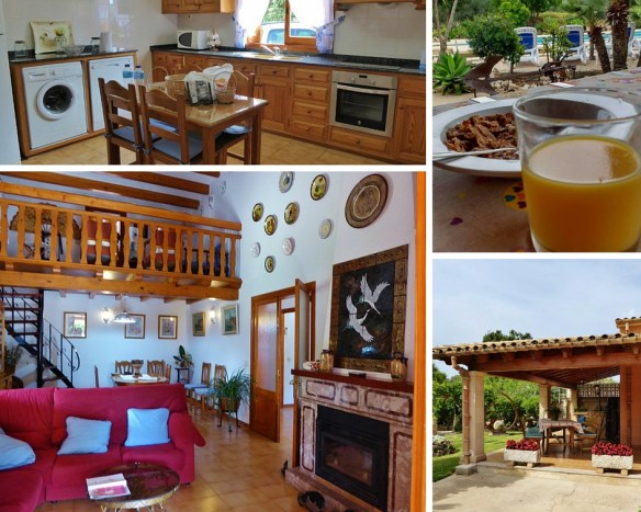 collage of luxury villa Mallorca- Travelopo Porto Pollenca - Puerto Pollensa