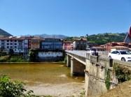 Arriondas Spain - A cute river town in Asturias Spain