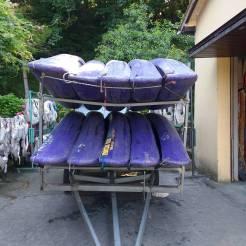 Canoeing the Sella River Asturias Spain