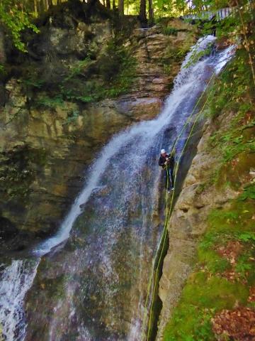 Canyoning Morzine France