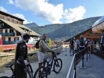 Downhill-mountain-bikomg--Morzine