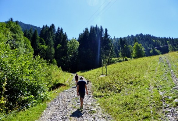 Hiking in Morzine