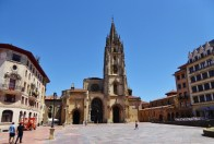 Oviedo Cathedral in Asturias Spain