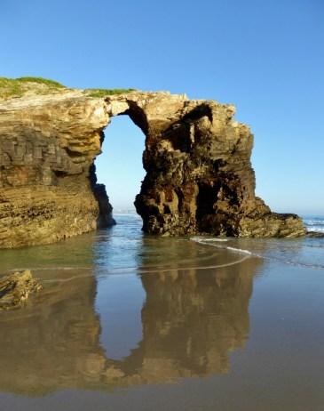 Playa de las Catedrales morning Galicia Spain