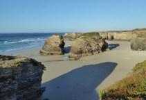 Playa de las Catedrales sunset Galicia Spain
