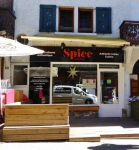 Spice Garden Indian Food in Morzine France