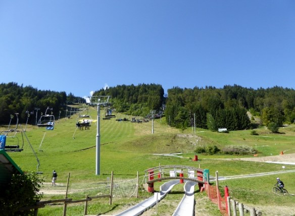 The Pleney Luge Morzine France