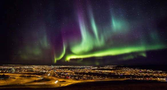 Aurora Borealis Iceland - From Iceland Press photos http://www.iceland.is/press-media/photos